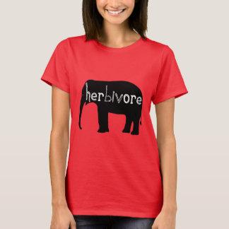 T-shirt Herbivore - éléphant