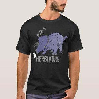 T-shirt HERBIVORE MORTEL de Triceratops