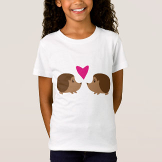 T-Shirt Hérissons dans l'amour