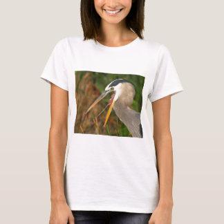 T-shirt héron