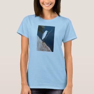 T-shirt Héron de Milou sur la roche