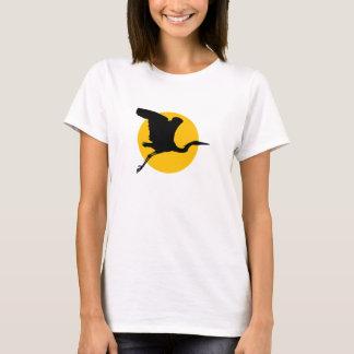 T-shirt Héron en vol
