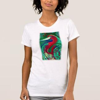 T-shirt Héron rouge