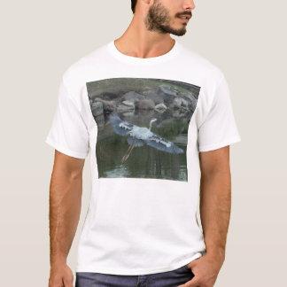 T-shirt Herron bleu en vol