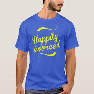 T-shirt Heureusement divorcé