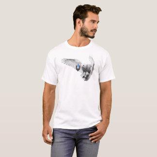T-shirt Hibou blanc