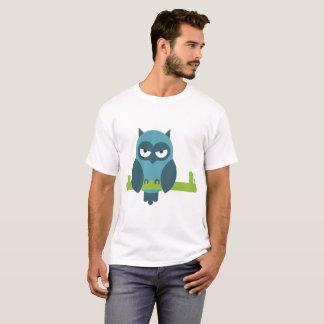 T-shirt Hibou comique