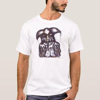 T-shirt Hibou d'Athenas de la vie examinée