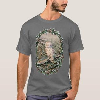 T-shirt HIBOU et GUIRLANDE de MILOU par SHARON SHARPE