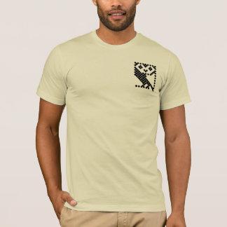 T-shirt Hibou micro de BBC - petit noir