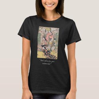 T-shirt Hideyoshi samouraï et épouses Kitagawa Utamaro