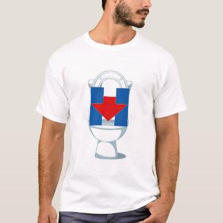 T-shirt Hillary affleurante