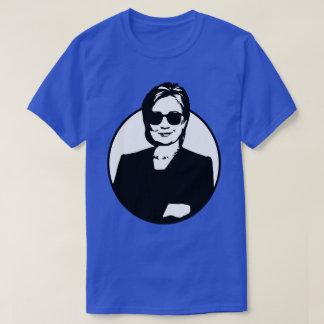 T-shirt Hillary Clinton est des hommes de Badass