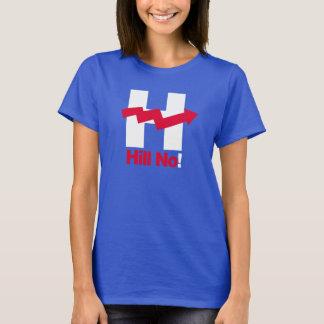 T-shirt Hillary tordue H - - Anti-Hillary --