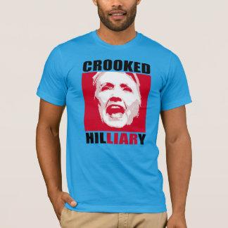 T-shirt HILLIARY TORDU - - Anti-Hillary -