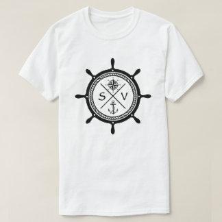 T-shirt Hippie naviguant le logo de navire de navigation