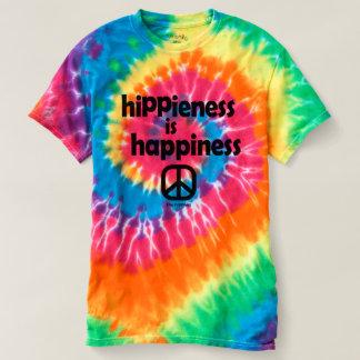 T-shirt Hippieness est des dames de pièce en t de colorant