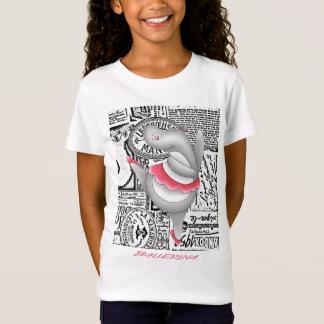 T-Shirt Hippopotame de ballerine