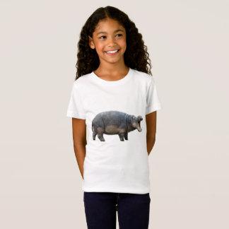 T-Shirt Hippopotame de bébé