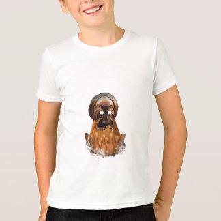 T-shirt hippopotame de bowling