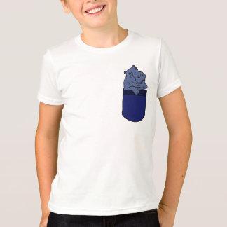 T-shirt Hippopotame de CF dans une chemise de poche