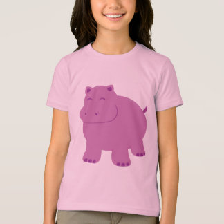 T-shirt Hippopotame mignon