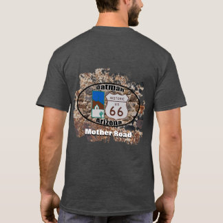 T-shirt ~ historique Oatman, Arizona de l'itinéraire 66