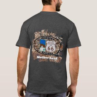 T-shirt ~ historique Winslow, Arizona de l'itinéraire 66