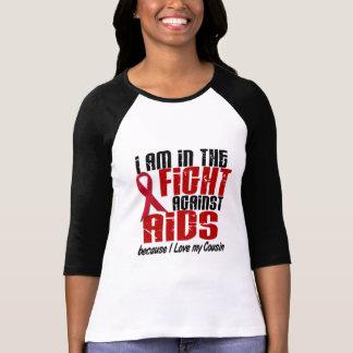 T-shirt HIV de SIDA dans le cousin du combat 1