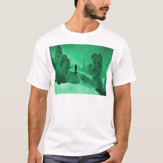 T-shirt Hiver dans la forêt