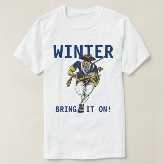 T-shirt Hiver de Boston