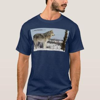 T-shirt Hiver - loup