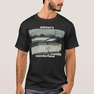 T-shirt hiver, pays des merveilles