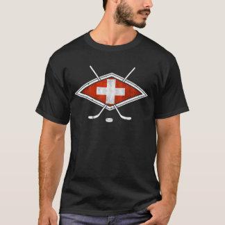 T-shirt Hockey sur glace suisse de Schweiz Eishockey