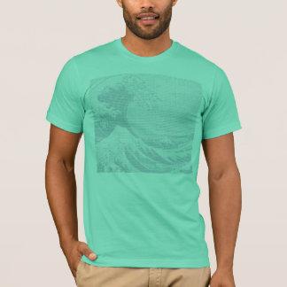 T-shirt Hokusai - customisé