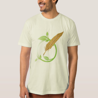 T-shirt holistique de logo de conteur