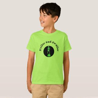 T-shirt Holler et Swaller de Childs avec la copie de noir
