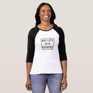 T-shirt Hollywood paresseux ma vie est une chemise de
