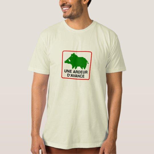 T-Shirt Homme BIO - UNE ARDEUR D'AVANCE