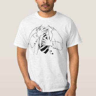 T-shirt Homme dans un costume comique