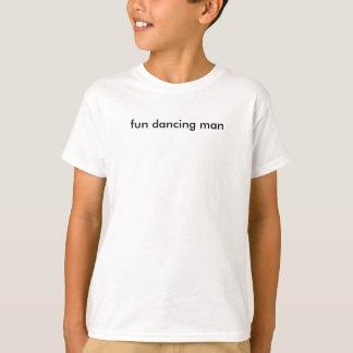 T-shirt homme de danse d'amusement