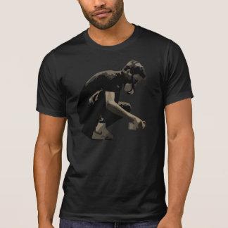 T-shirt homme de graffiti