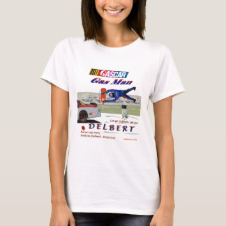 T-shirt Homme NASCAR de gaz de Delbert