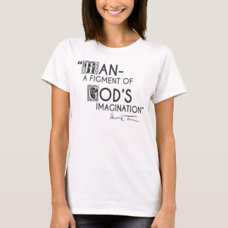 T-shirt Homme - une fiction de l'imagination de Dieu
