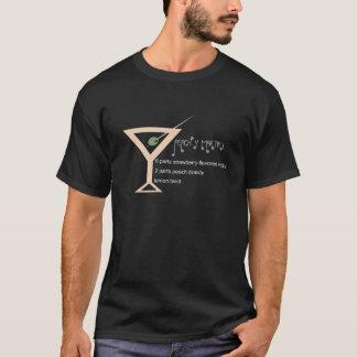 T-shirt Hommes couleur pêche de Martini foncés