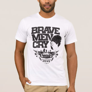 T-shirt Hommes courageux