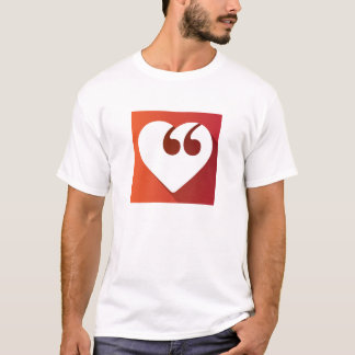 T-shirt Hommes d'amour de liberté de parole