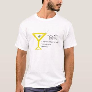 T-shirt Hommes de baisse de citron