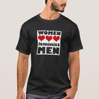 T-shirt Hommes de féministe d'amour de femmes
