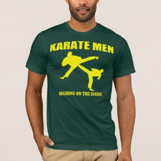 T-shirt Hommes de karaté - meurtrissant sur l'intérieur